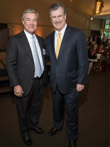 Trevor Rees Jones, Mayor Mike Rawlings,  Spirit of Entrepreneurship Event