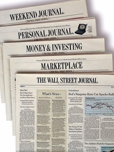 News_Wall Street Journal_newspapers_newspaper