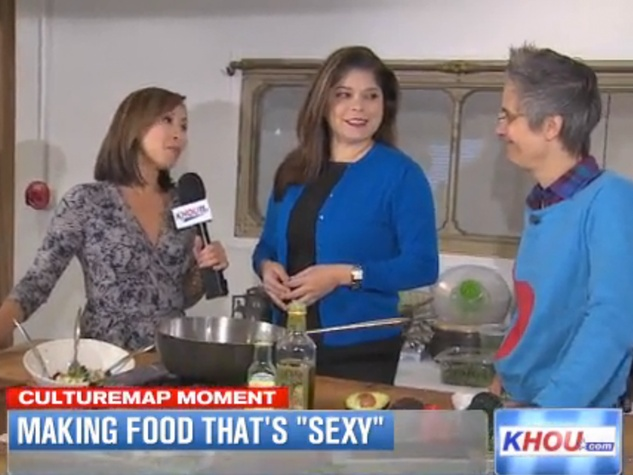 KHOU CultureMap Moment sexy mood food for Valentine's Day February 10 THIS