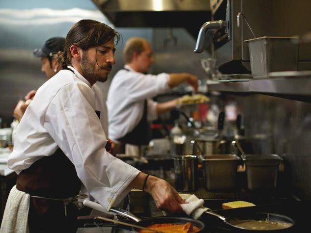 Kitchen at Mettle restaurant in Austin