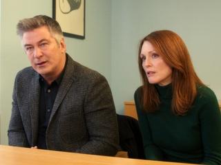 Alec Baldwin and Julianne Moore in Still Alice