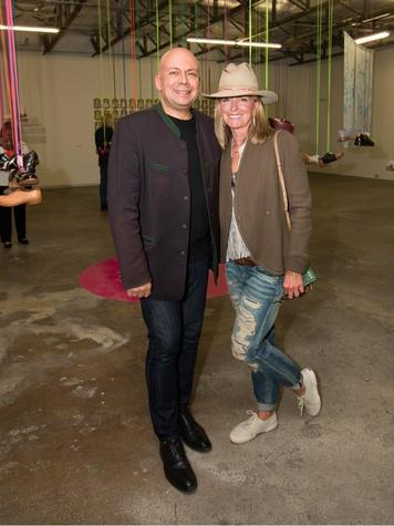 Peter Doroshenko, Karla McKinley, Dallas Contemporary Exhibition Opening