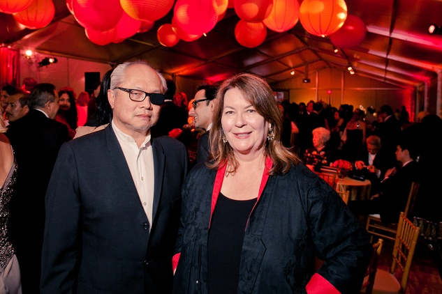 32 Mel Chin and Helen Nagge at the Asia Society Tiger Ball March 2015