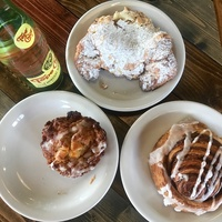 Cake and Bacon pastries