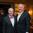 Scotty Arnoldy, left, and Dan Tutcher at the Alley Theatre Wild Things Dinner October 2014