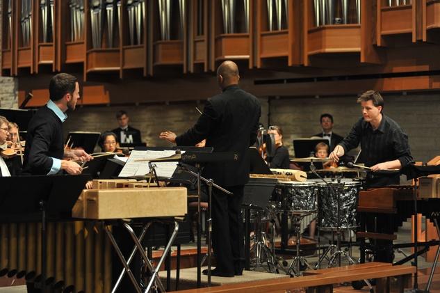 River Oaks Chamber Orchestra Big Bang percussion concerto
