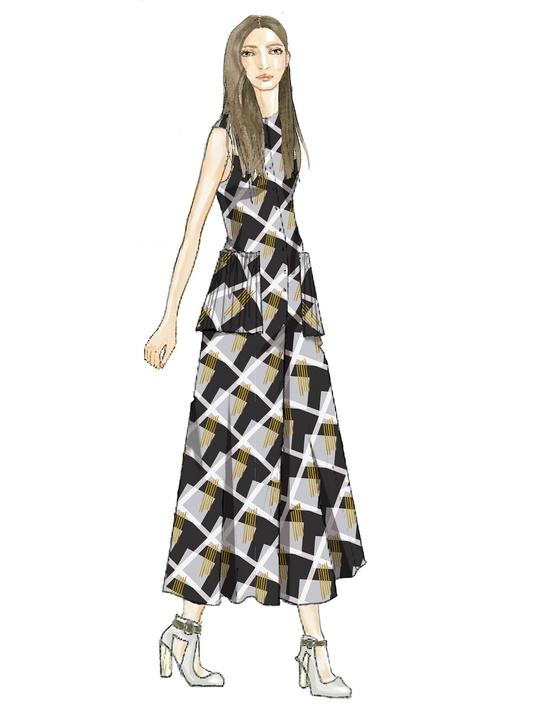 Suno inspiration sketch New York Fashion Week