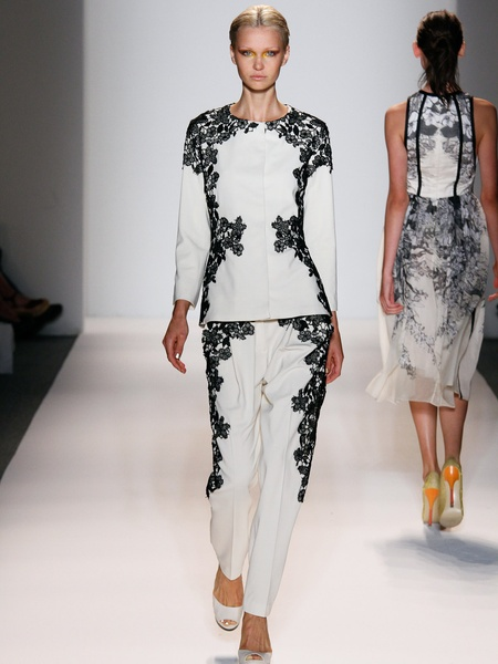 Clifford, Fashion Week spring 2013, September 2012, Lela Rose, Look 20