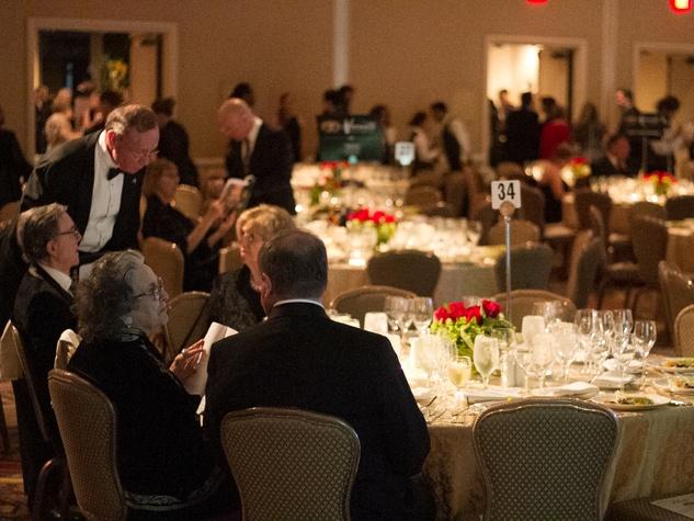 Austin Opera Serenata Wine Dinner & Auction Dinner Tables