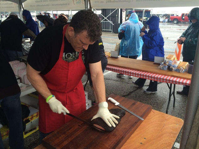 Wayne Mueller Louie Mueller Houston Barbecue Festival BBQ