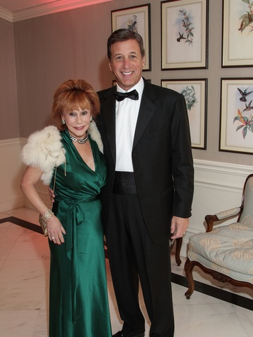 Nancy Dinerstein and Jack Dinerstein at the Huffington Center on Aging Gala November 2013