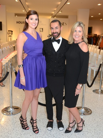 7 Camille Connelly, from left, Fady Armanious and Penne Weidig at Fresh Faces of Fashion event at Tootsies September 2014