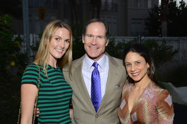 Emmelie Kopp, from left, Jamie Bell and Karen Farber at the Aurora Picture Show Awards dinner October 2014