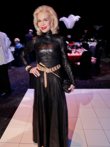 Style File Lynn Wyatt at the Mercury Baroque Gala March 2014
