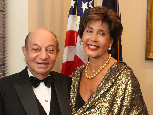 3 Baker Institute 20th anniversary gala advertorial October 2013 Hushang Ansary and Shahla Ansary