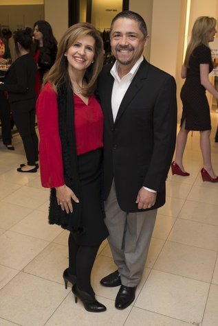 25 Mehrnaz Gil and Bruce Padilla at Houston Sweethearts at Saks February 2015
