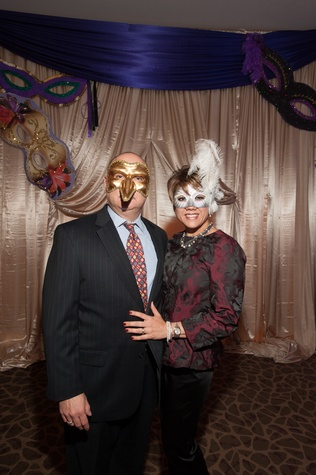 31 Gilbert and Dr. Deanna Pena Garcia at the Eye Ball February 2015
