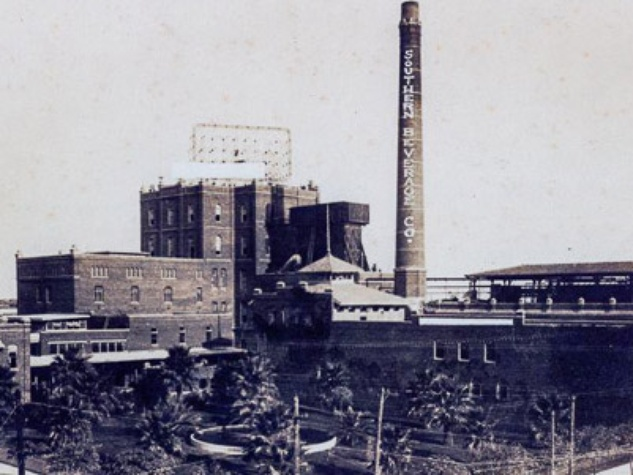 Galveston Brewery as Southern Beverage Company