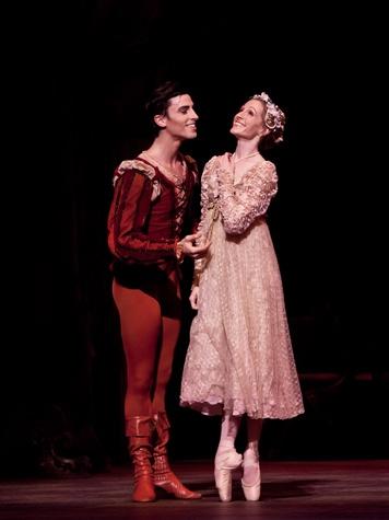 8442-2, Houston Ballet, Romeo and Juliet, June 2012, Joseph Walsh,  Sara Webb