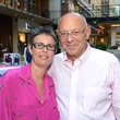 9 Mabel and Jim Sanders at the West Ave Turns Pink party October 2013