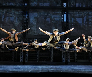 Disneys' Newsies on Broadway