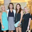 4 Meghan Moore, from left, Kim Padeletti, Beth DeLozier-Hayes and Holly Wilkison at the WOW Summer Soiree August 2014