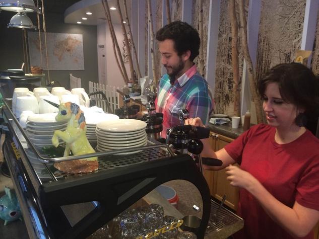 Mercantile Montrose espresso machine