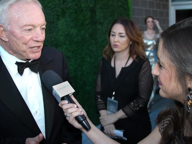 Texas Medal of Arts Awards 2015 Jerry Jones CultureMap Dallas Diana Oates