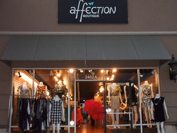 Affection clothing store website. Cheap clothing stores
