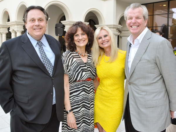 Hermann Memorial, July 2012, Tony Vallone, Donna Vallone, Jo Lynn Falgout, Gregg Falgout