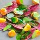 Uchi Austin restaurant dish rokuniku venison gooseberry kale 2015