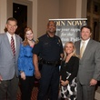Joe and Jennifer Van Matre, from left, Charles McClelland and Susie and Robert Kneppler at the Houston Police Department benefit April 2015