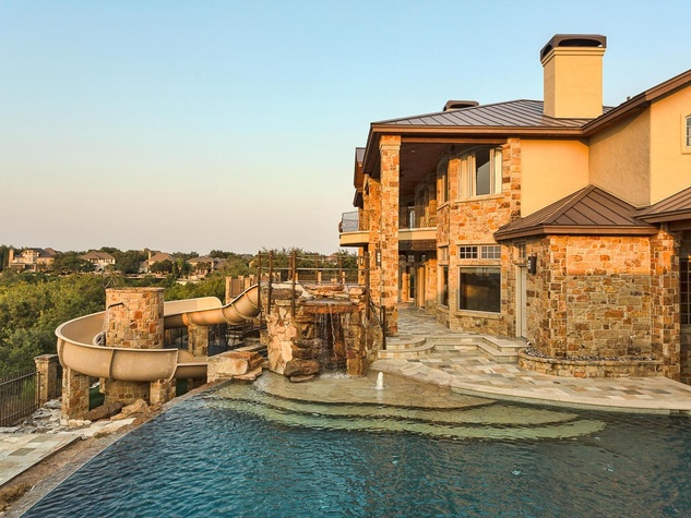 Austin home house 12006 Pleasant Panorama View 78738 Jeff Kent April 2016 exterior side pool