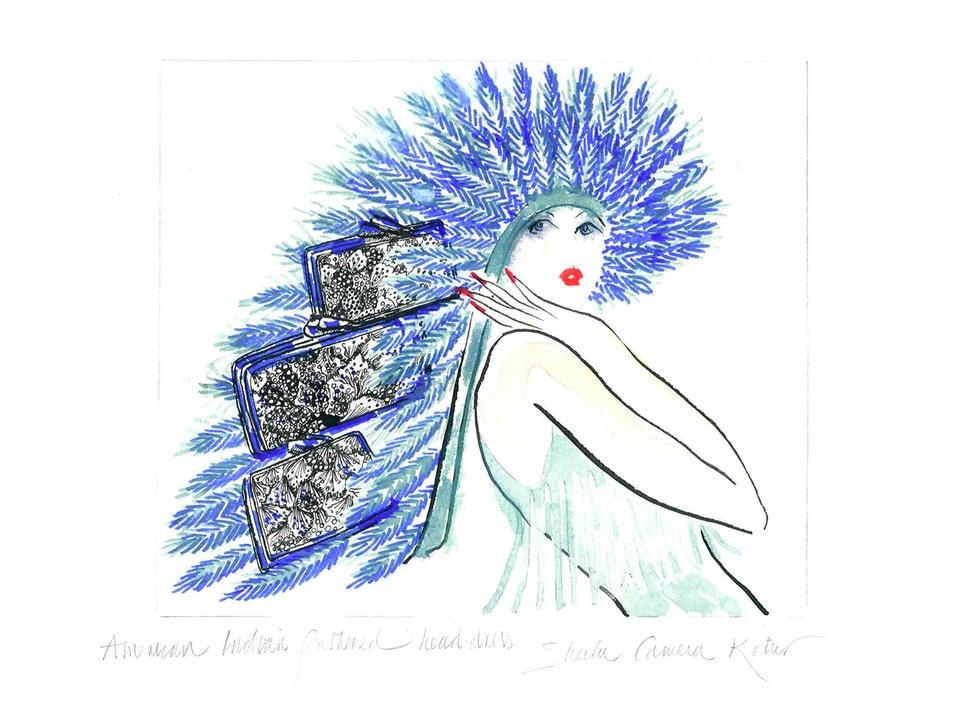 Fashion Week spring summer 2014 Fiona Kotur sketch