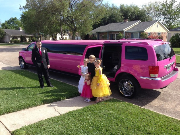M.D. Anderson event at the Proton Center, Julia Cobb, Pix of the Day, April 2013, limo