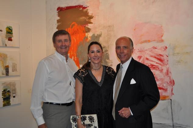 News, Shelby, Texas Contemporary opening, Sept. 2014,  Tom Glanville, Liz Glanville, Alfred Moran