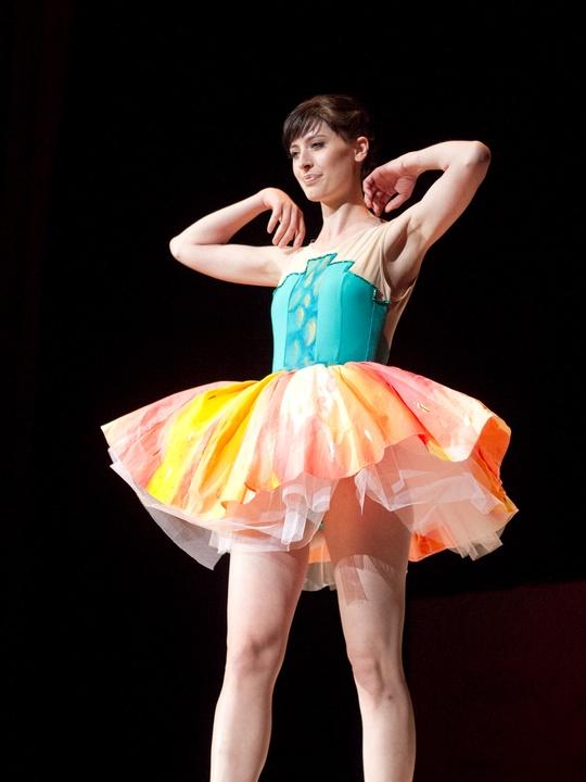 Spectrum UT Senior Fashion Show 2014 Molly Empey