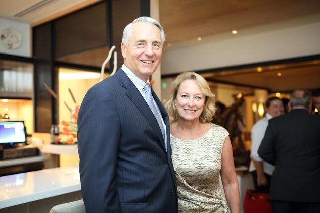7 Dr. Robert and Marianne Ivany at the BCN dinner for Texas Children's Hospital September 2014