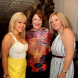 13 Linda Pham, from left, Cara Crafton and Erin Olson at the Dress for Dinner kickoff in new David Peck Showroom September 2014