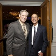 0206 Corby Robertson Jr., left, and Dr. Stuart Yudofsky at the Menninger Luncheon May 2014