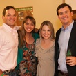 Mike and Emily Sperandio, from left, and Tahra and Craig Peterson at the PALS event June 2014