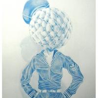 Michael Mandola, ProjeXion exhibit review, January 2013, Alexandre Rosa 2 - lead on paper