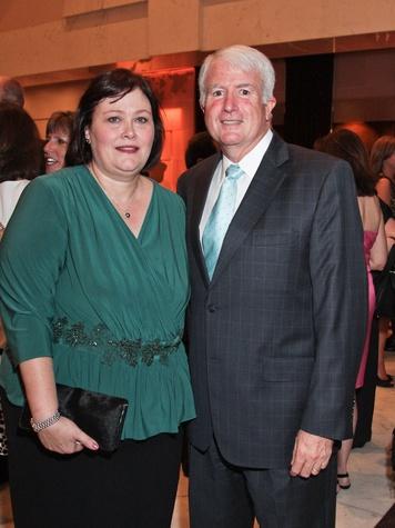 Kim and Mike Weill at the Medical Bridges gala October 2013