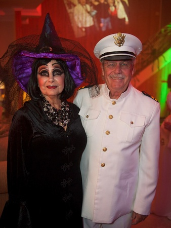 Roland Garcia annual Halloween party, October 2012, Philamena Baird, Arthur Baird
