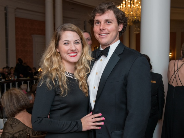 26 Ali and Frank Donnelly at the Inprint Ball February 2015