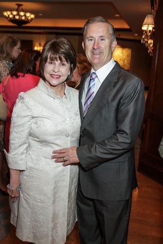 Mary and Tony Gracely at the Houston Hospice butterfly luncheon April 2015