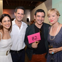 6 Diverseworks Luck of the Draw May 2013 Karen Farber, Justin Segal, Rogelio Rendon, Rachel Cook