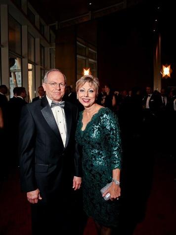 John Kelley and Jano Nixon Kelley at Bering Omega's Sing for Hope