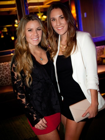 Kendra Dorsey and Shelly Dorsey ,  J R Ewing bourbon launch party