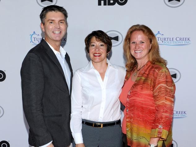 Dr. Kevin Terrell, Julie Sandoval, Debra Davis, Black Tie Dinner, HBO